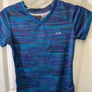 Girls Size 7-8  Duo Dry Champion Tee